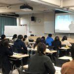 石坂さんの英語セミナーを見た学生たち